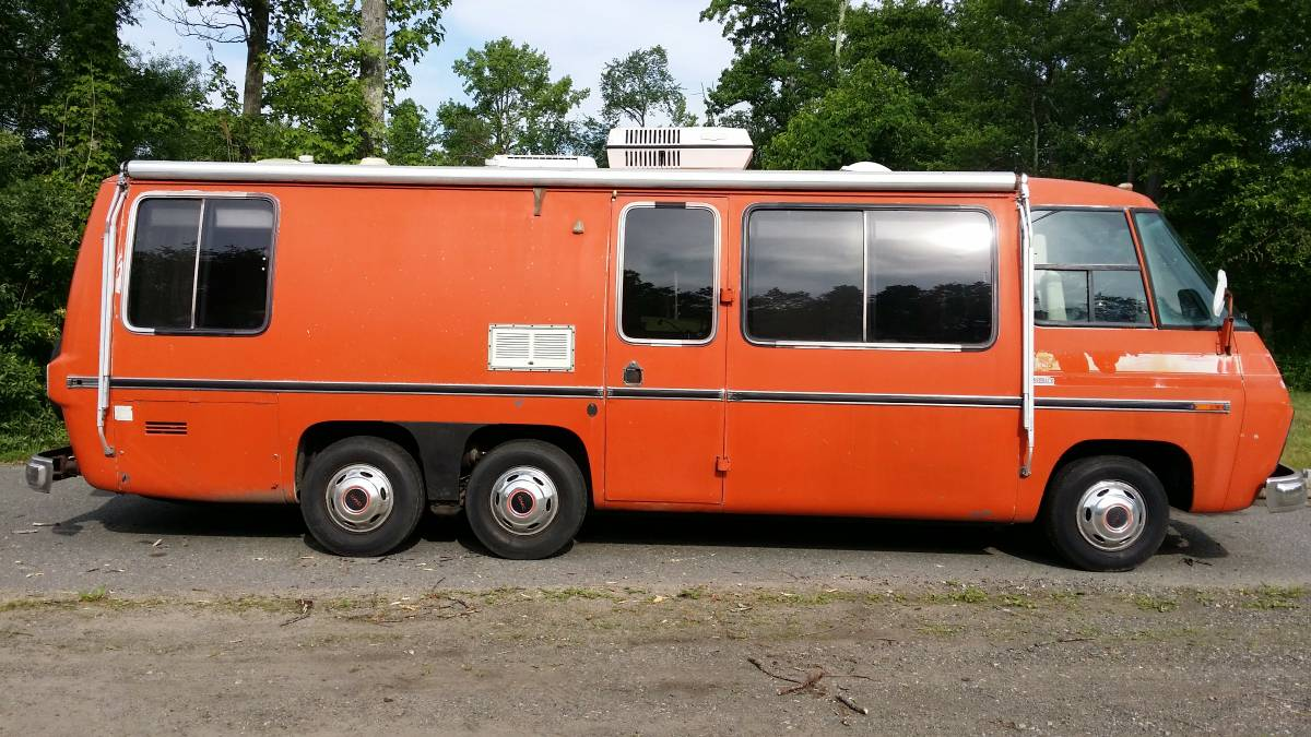 1973 Gmc Painted Desert 26ft Motorhome For Sale In