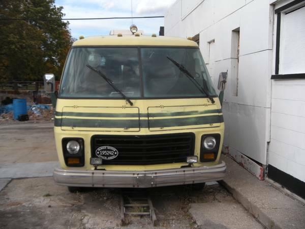 1973 GMC Motorhome For Sale or Trade in Detroit Metro ...