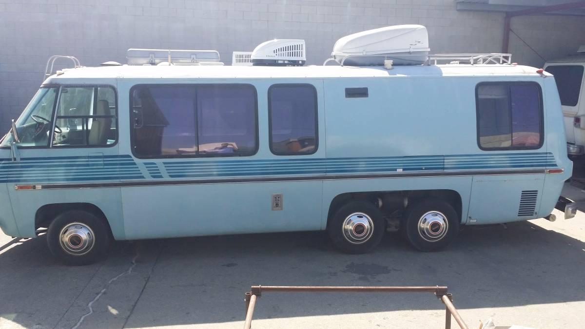 1973 Gmc Glacier 26ft Motorhome For Sale In Los Angeles