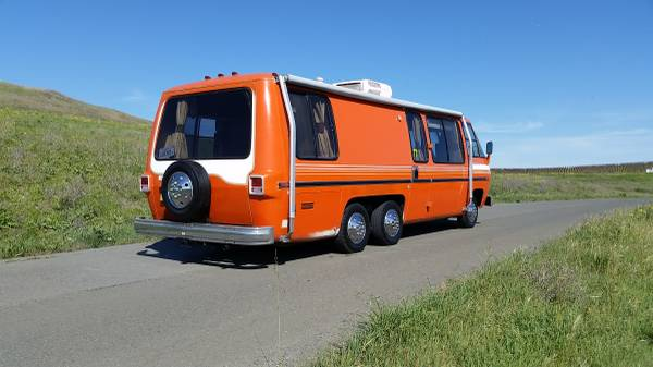 1973 GMC Canyonlands 26FT Motorhome For Sale in Napa ...