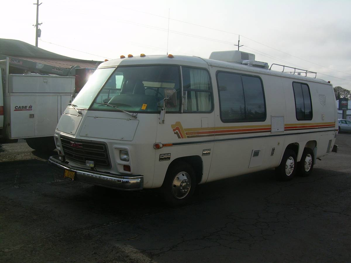 1976 gmc motorhome royale 26ft for sale in aloha portland or. Black Bedroom Furniture Sets. Home Design Ideas