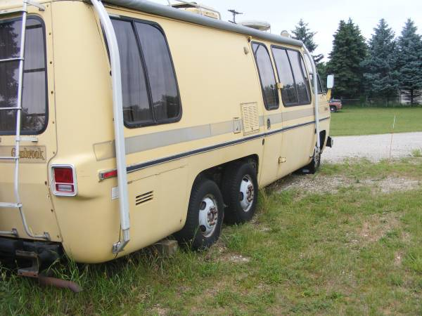 1976 Gmc Glenbrook 26ft Motorhome For Sale In Grand Rapids