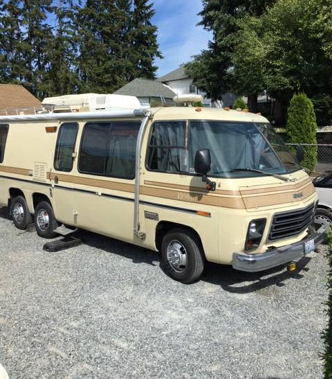 Gmc Tulsa: 1976 GMC Eleganza II 26FT Motorhome For Sale In Puyallup