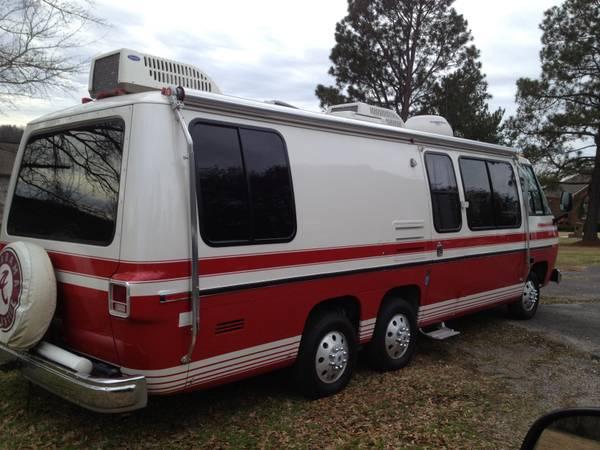 1976 Gmc Motorhome Restored For Sale In Tuscaloosa