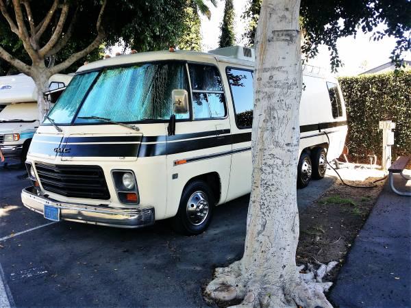 1977 Gmc 26ft Motorhome For Sale In Temecula California