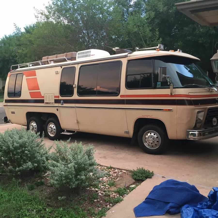 1977 GMC Kingsley 26FT Motorhome For Sale in Cedar Park, Texas