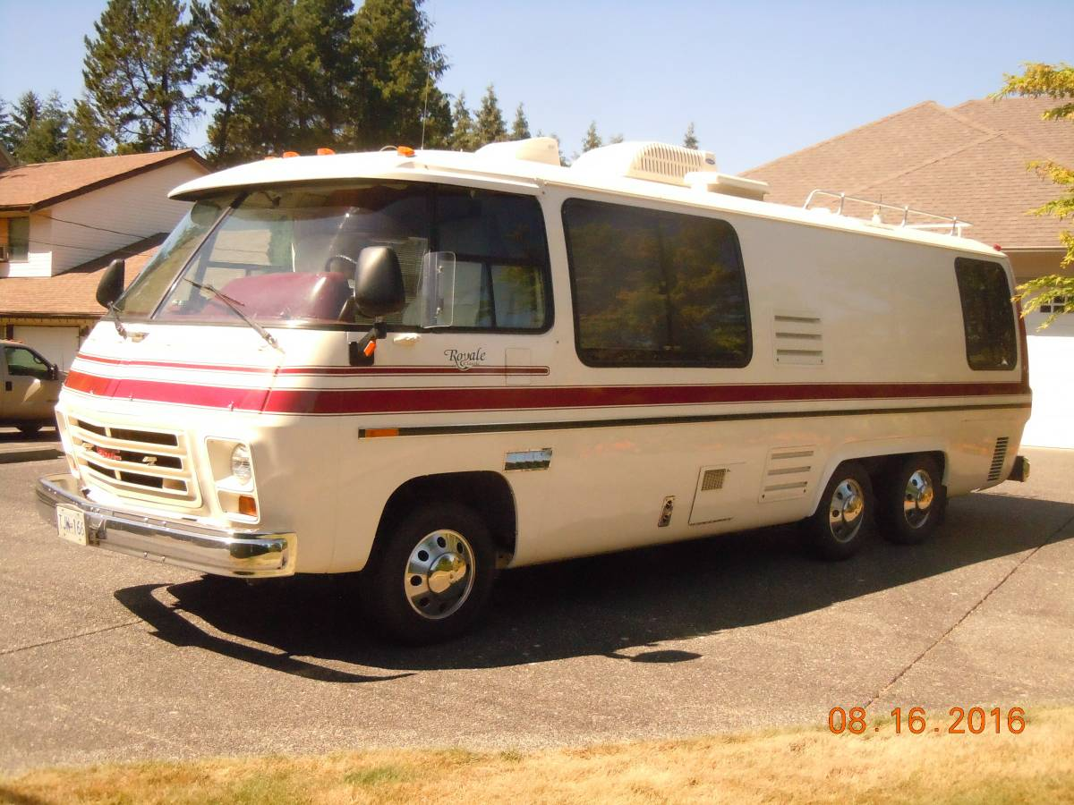 Rv Trader Bc >> 1977 GMC Royale 26ft Motorhome For Sale in Langley, British Columbia