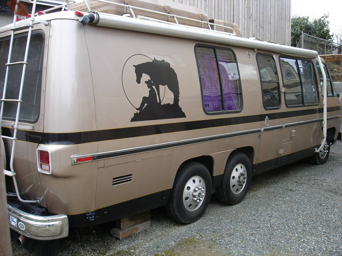 1977 gmc coachman series 26ft motorhome for sale in for Gmc motor homes for sale