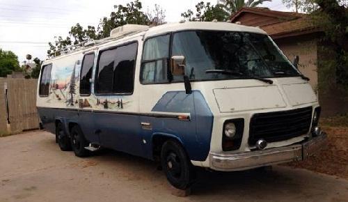 1974 GMC Eleganza II 26FT Motorhome For Sale in Los