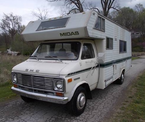 1976 GMC MIDAS RV 24FT Motorhome For Sale in Edwardsville
