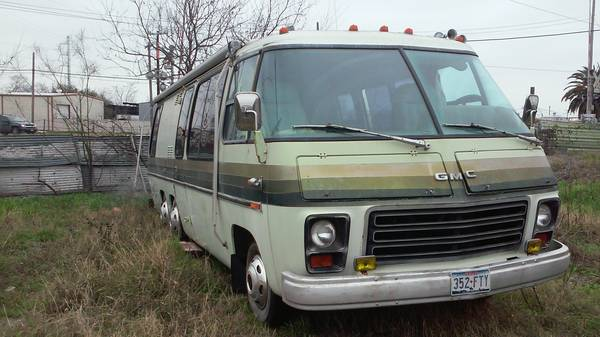 1978 gmc royale 26ft motorhome for sale in san antonio texas for Motor homes san antonio
