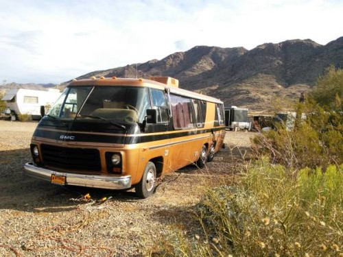 1976 gmc glenbrook 26ft motorhome for sale in congress arizona. Black Bedroom Furniture Sets. Home Design Ideas