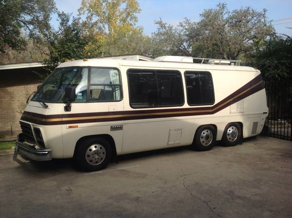 1977 gmc 23ft motorhome for sale in blanco texas for Gmc motor homes for sale