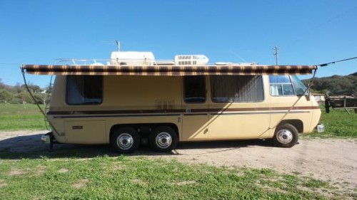 1974 GMC 26FT Motorhome For Sale in Lompoc, California