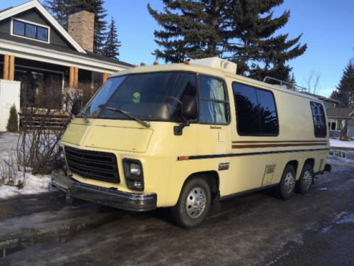 1977 Gmc Birchaven 23ft Motorhome For Sale In Calgary Alberta