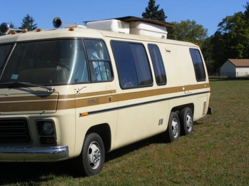1976 gmc eleganza ii 26ft motorhome for sale in grand rapids michigan. Black Bedroom Furniture Sets. Home Design Ideas