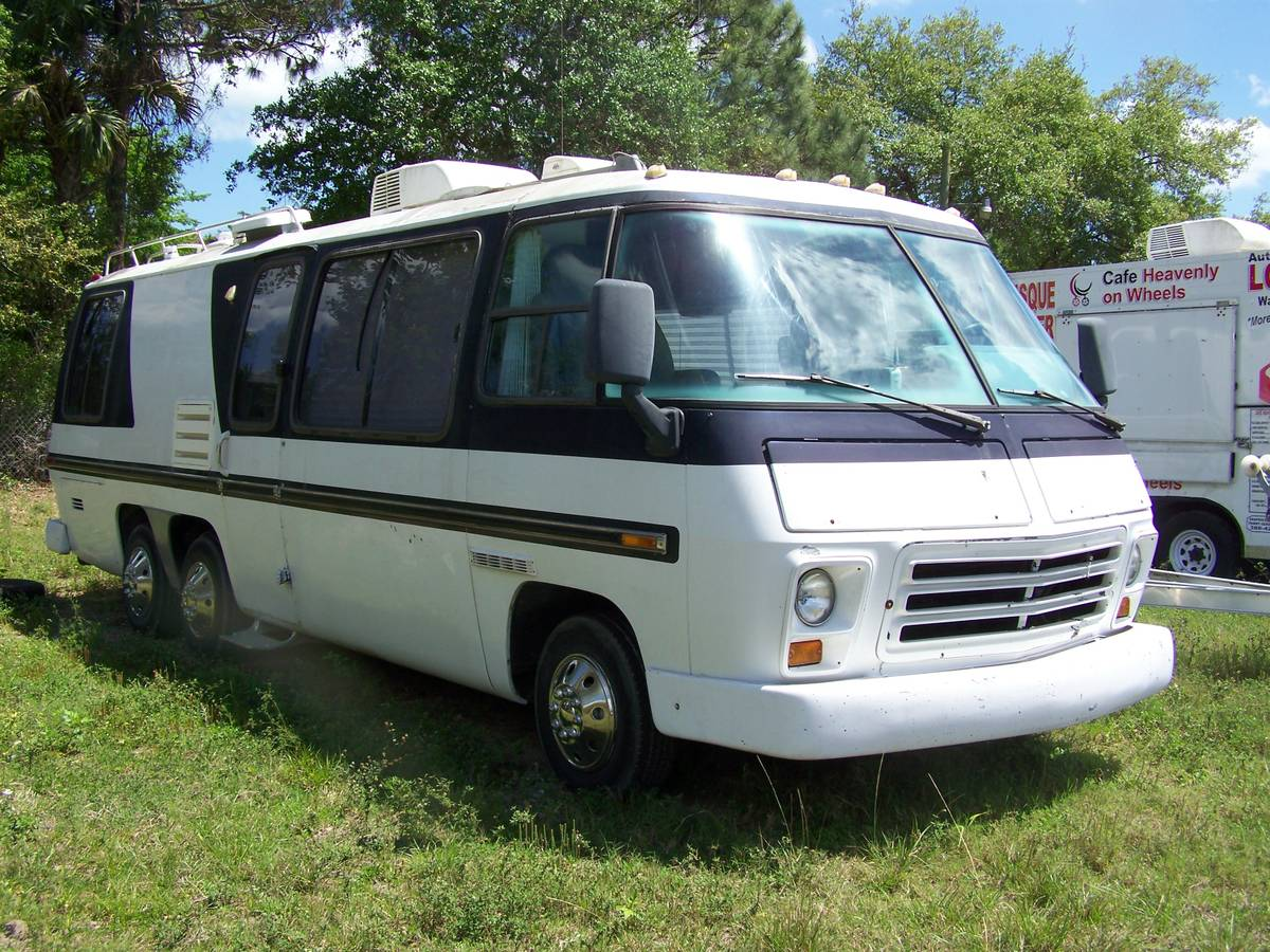 1973 gmc 26 foot motorhome for sale in edgewater florida