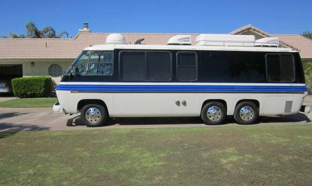 1978 gmc automatic 26ft motorhome for sale in palm desert for Desert motors palm desert