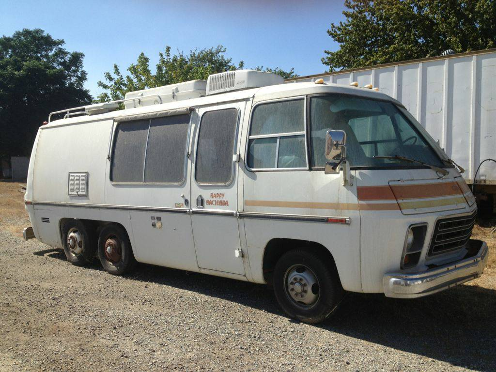 1976 gmc 23ft classic motorhome for sale beaumont california for Gmc motor homes for sale